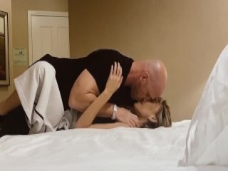 Busty blonde loves anal