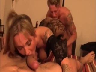 Big tits Granny getting fucked hard.