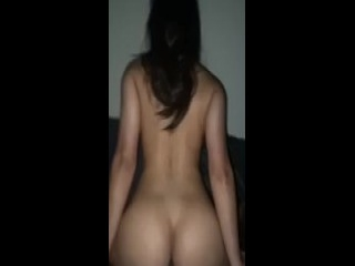 Girl gets ass fucked and cum in mouth
