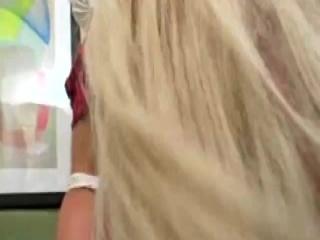 Slutty brunette Emma gets ass fucked