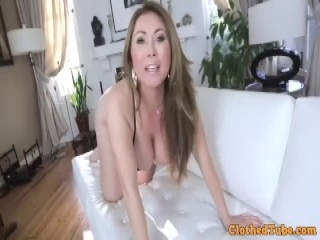 Angela can't resist the college age pussy